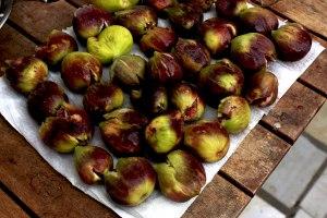homemade sun dried figs
