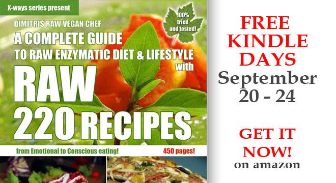 free kindle raw food