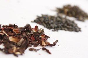 white tea and hibiscus