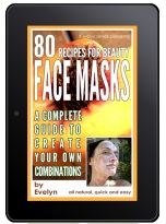 recipes for natural face masks kindle book