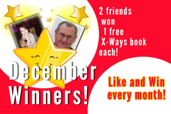 Like us and win free books